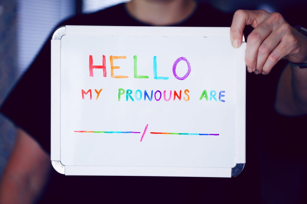 Talking about they/them pronouns with kids
